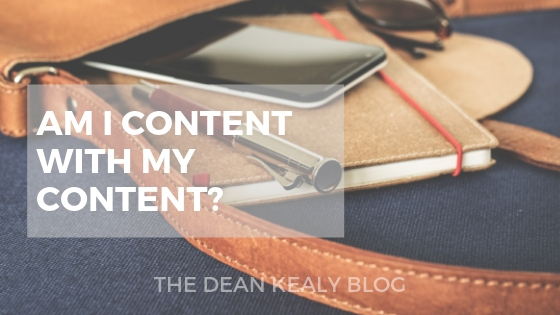 Am I Content With My Content?