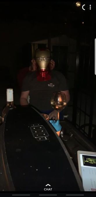 me iron man helmet