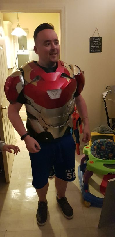 me iron man torso