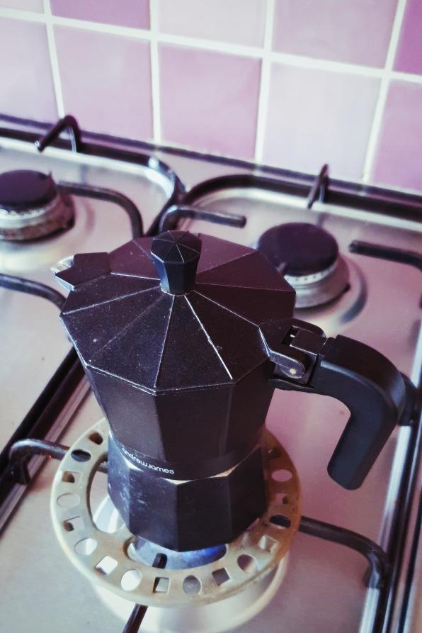 Make your black coffee, as you like