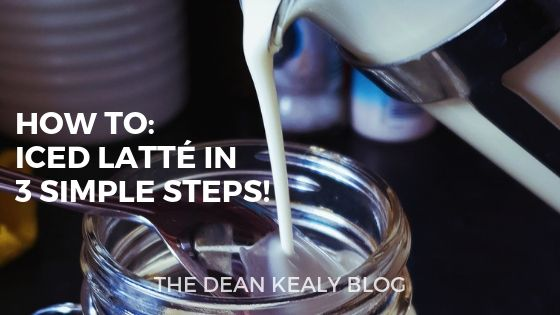 Easy Homemade Iced Latte in 3 Simple Steps!