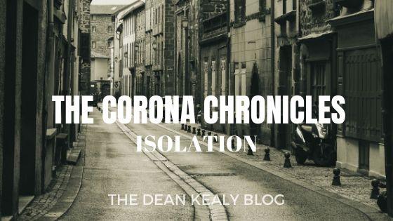 The Corona Chronicles:Isolation